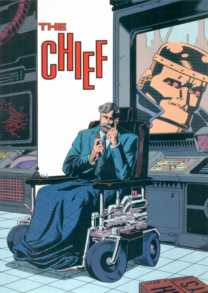 The Chief by Richard Case and Mark McKenna