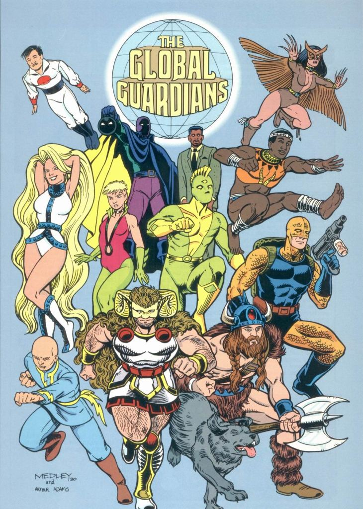 Global Guardians by Linda Medley and Art Adams