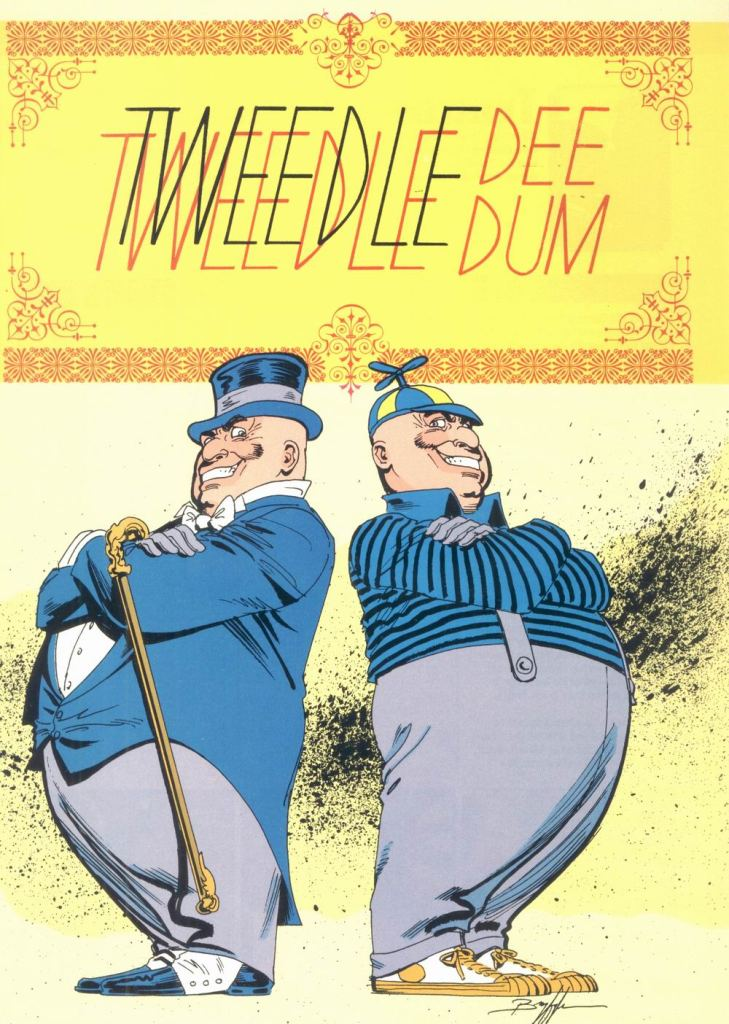 Tweedledee and Tweedledum by Norm Breyfogle