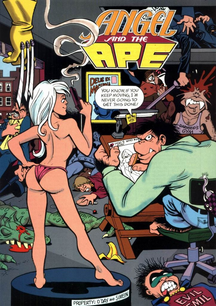 Who's Who in the DC Universe #10 - Angel and the Ape by Phil Foglio and Ty Templeton