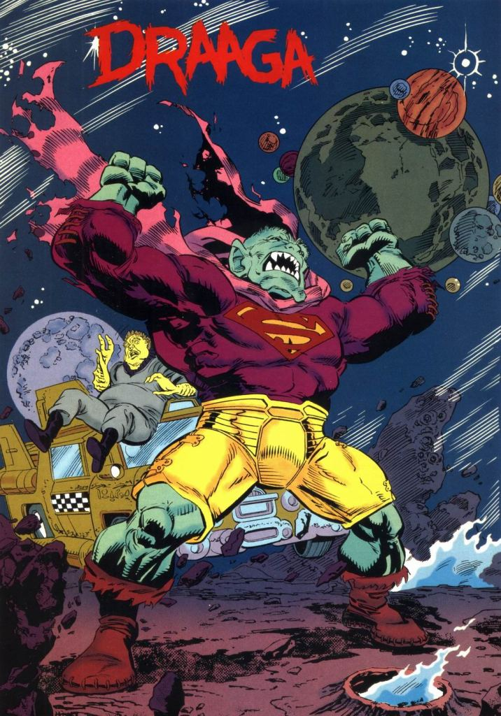 Who's Who in the DC Universe #10 - Draaga by Paris Cullins and Dennis Janke