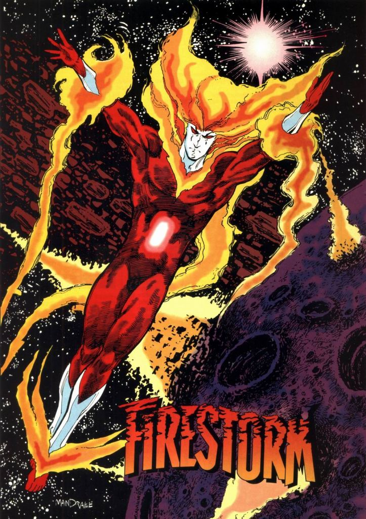 Who's Who in the DC Universe #10 - Firestorm by Tom Mandrake