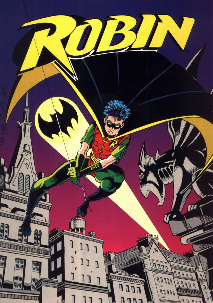Who's Who in the DC Universe #10 - Robin by Tom Lyle and Bob Smith