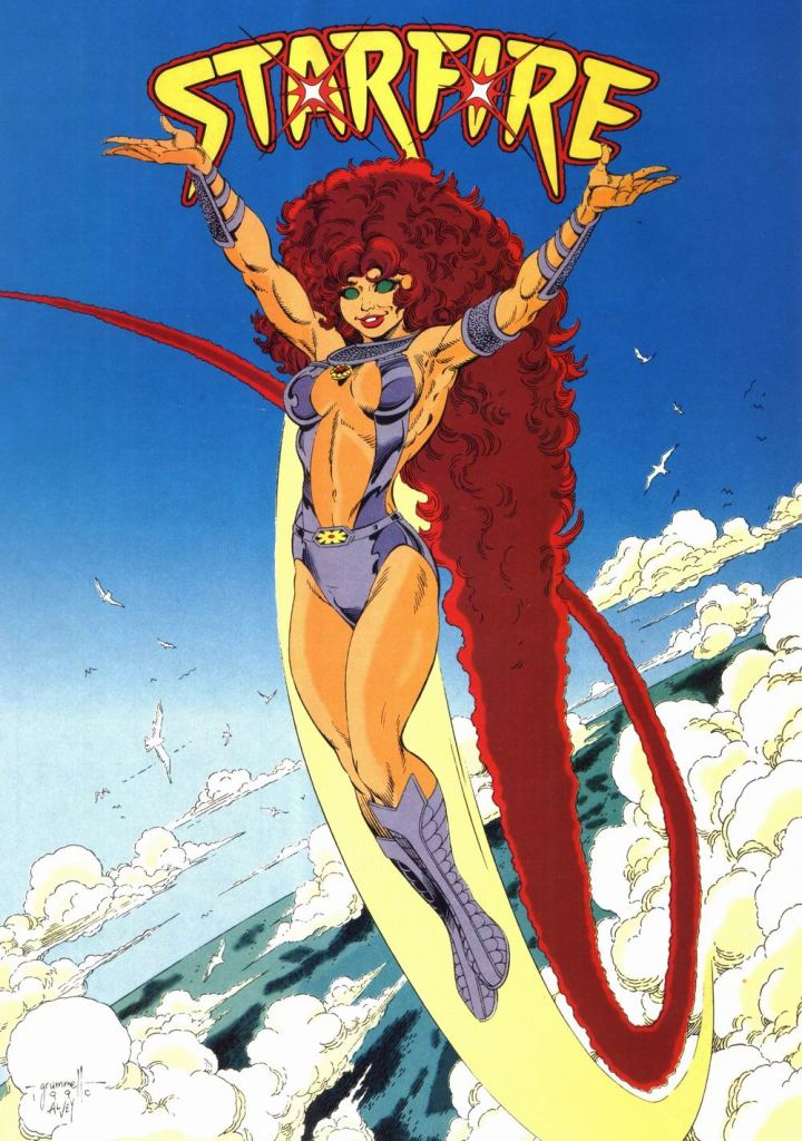 Who's Who in the DC Universe #10 - Starfire by Tom Grummett and Al Vey