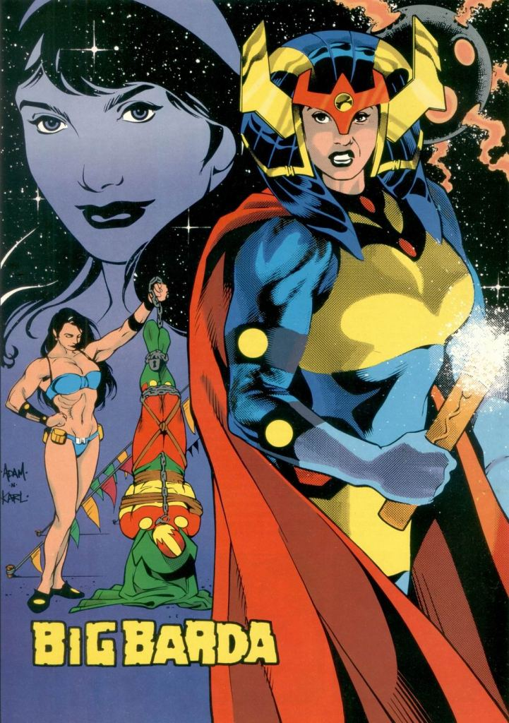 Who's Who in the DC Universe #11 - Big Barda by Adam Hughes and Karl Story