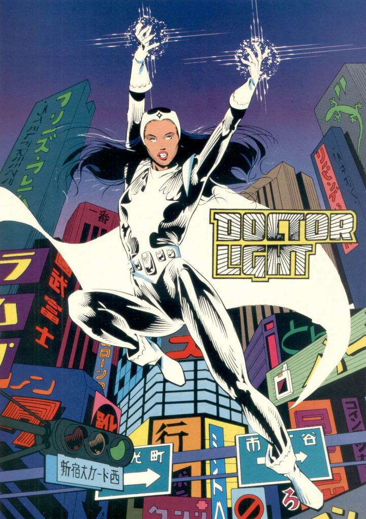 Who's Who in the DC Universe #11 - Doctor Light by Brian Stelfreeze and Karl Story