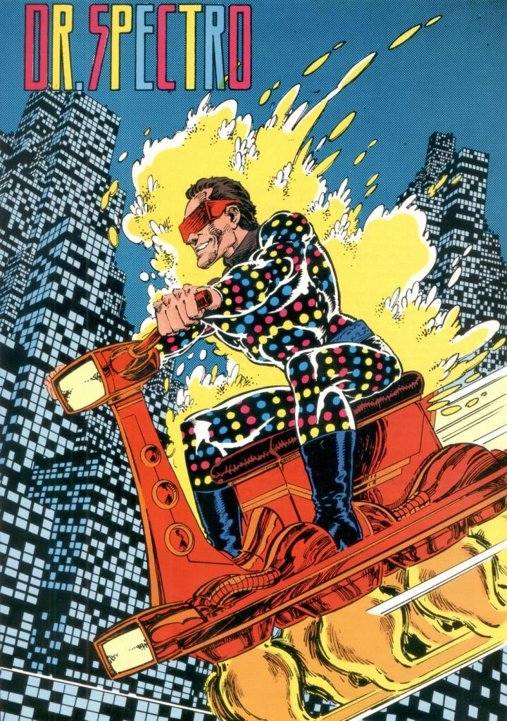 Who's Who in the DC Universe #11 - Dr. Spectro by Pat Broderick