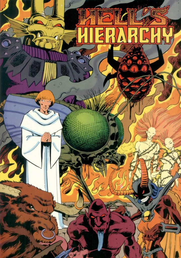 Who's Who in the DC Universe #11 - Hell's Hierarchy by Val Semeiks