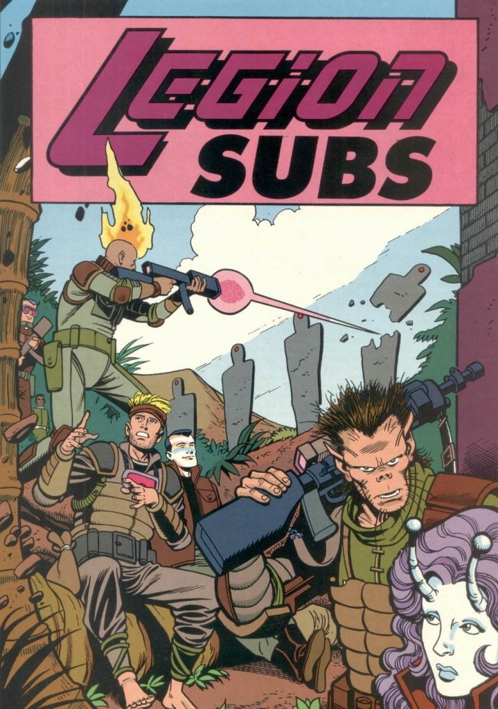 Who's Who in the DC Universe #11 - Legion Subs by Ty Templeton