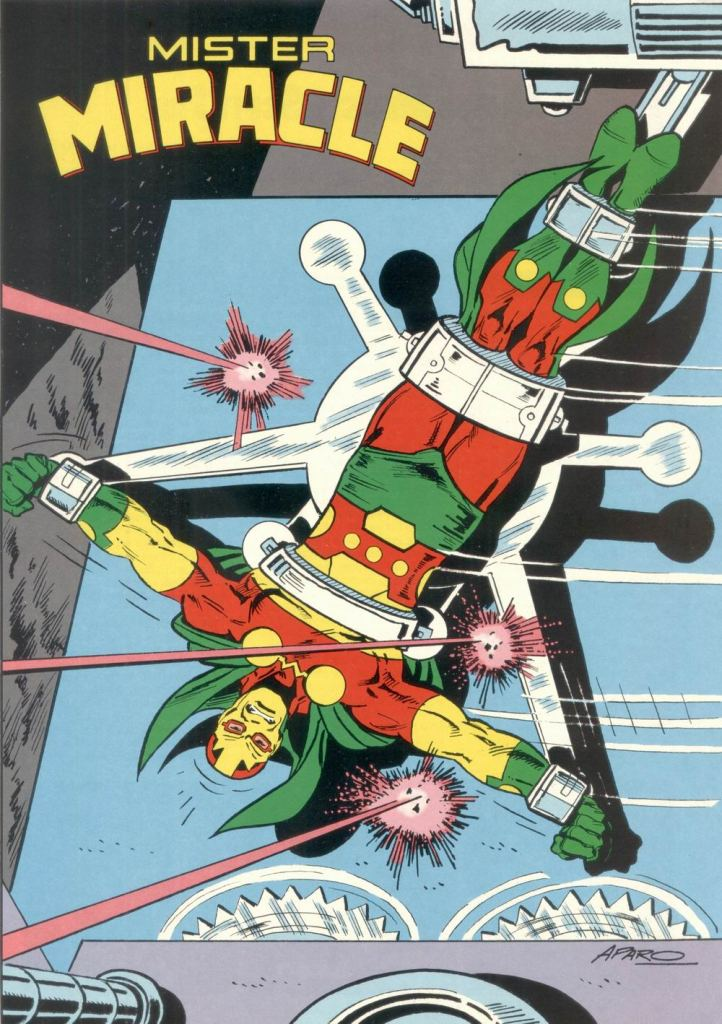 Who's Who in the DC Universe #11 - Mister Miracle by Jim Aparo