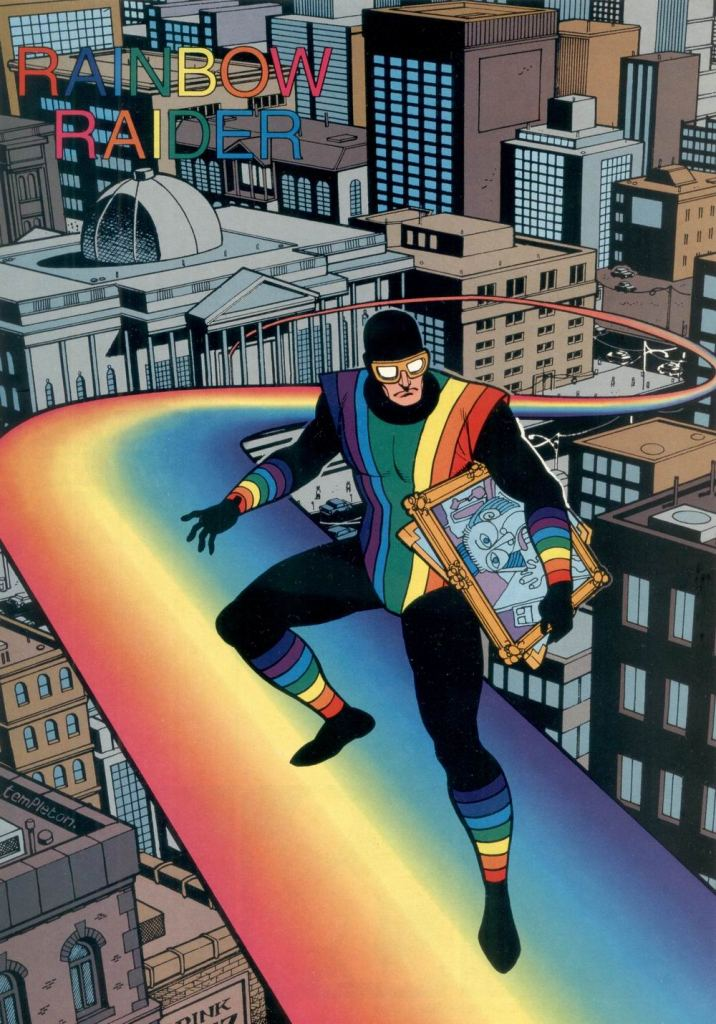 Who's Who in the DC Universe #11 - Rainbow Raider by Ty Templeton