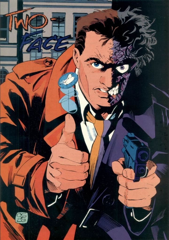 Who's Who in the DC Universe #11 - Two-Face by Chris Sprouse and Dick Giordano