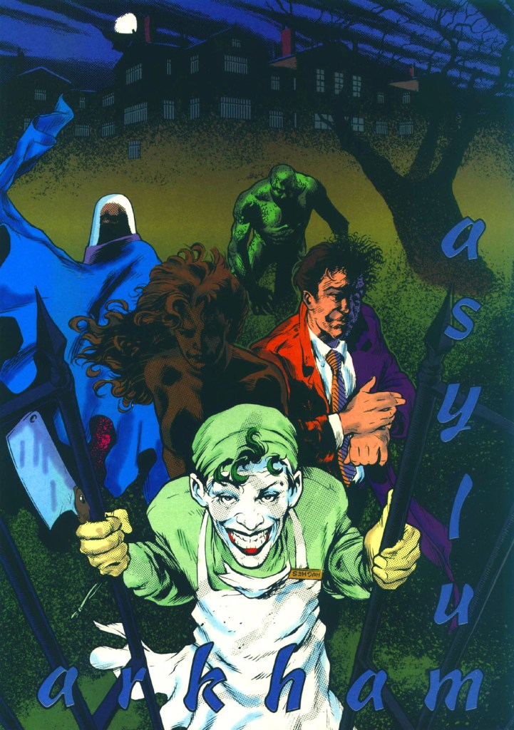 Who's Who in the DC Universe #13 - Arkham Asylum by Adam Hughes