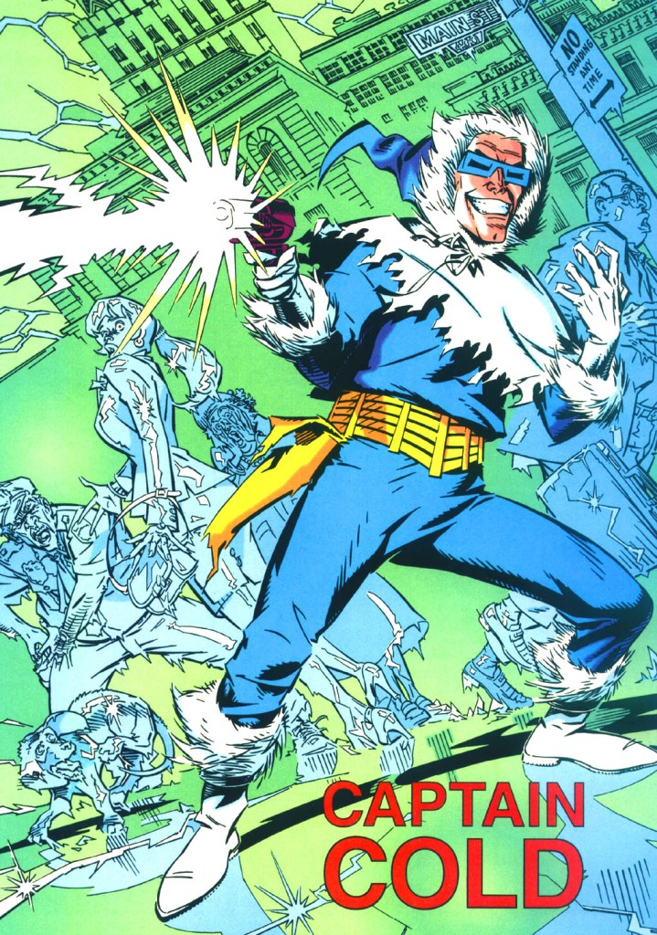 Who's Who in the DC Universe #13 - Captain Cold by Michael Golden
