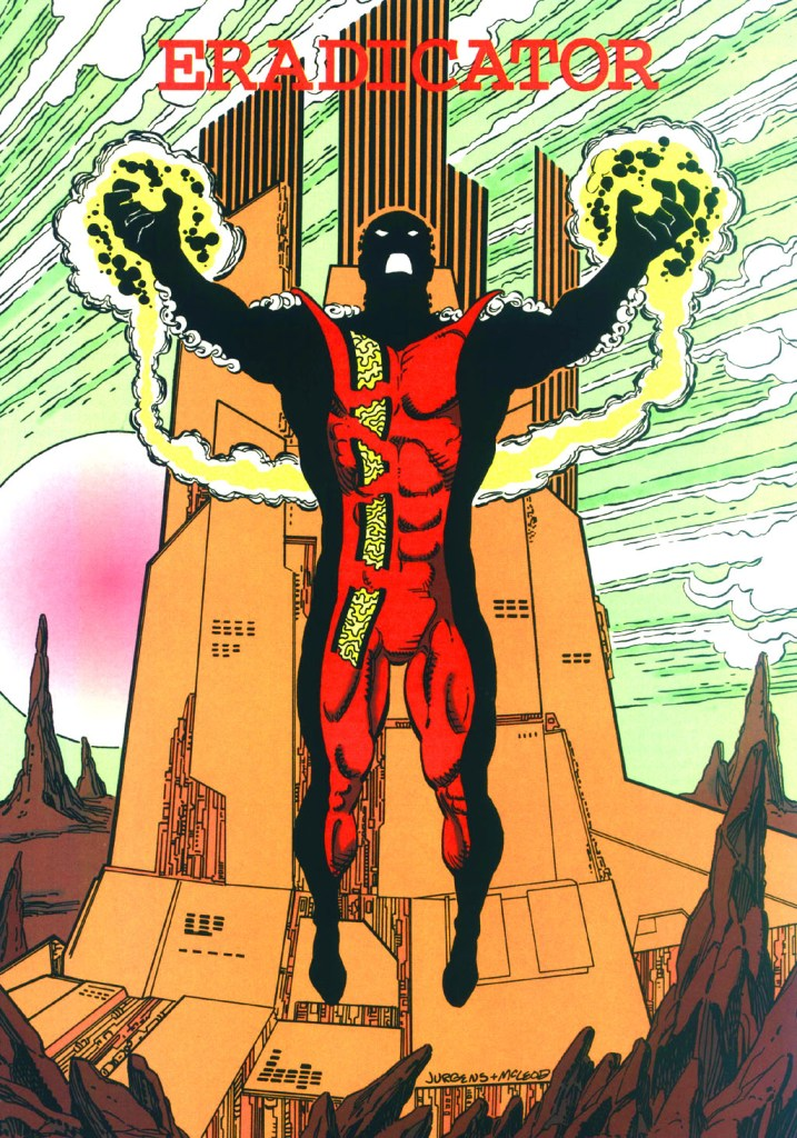 Who's Who in the DC Universe #13 - Eradicator by Dan Jurgens and Bob McLeod