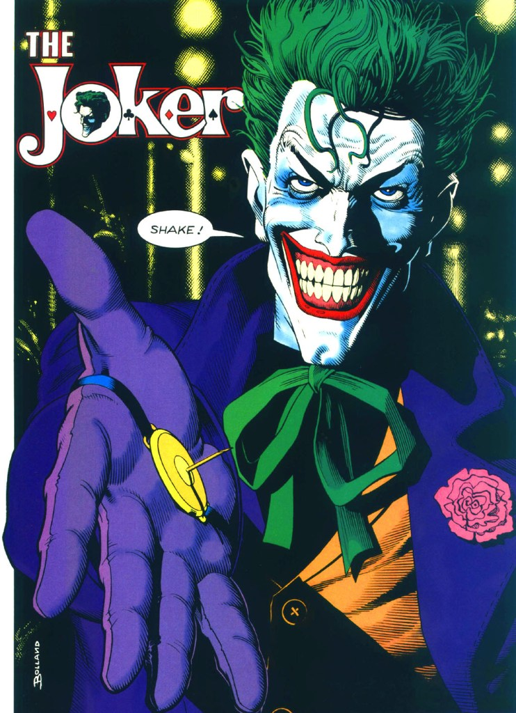 Who's Who in the DC Universe #13 - The Joker by Brian Bolland