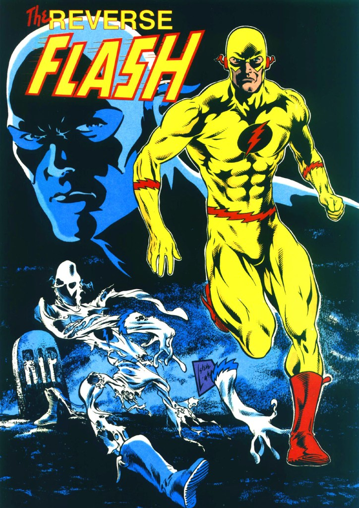 Who's Who in the DC Universe #13 - Reverse Flash by Steve Lightle