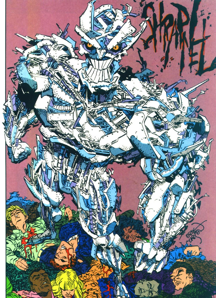 Who's Who in the DC Universe #13 - Shrapnel by Erik Larsen