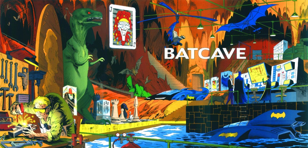Who's Who in the DC Universe #13 - Batcave by Norm Breyfogle