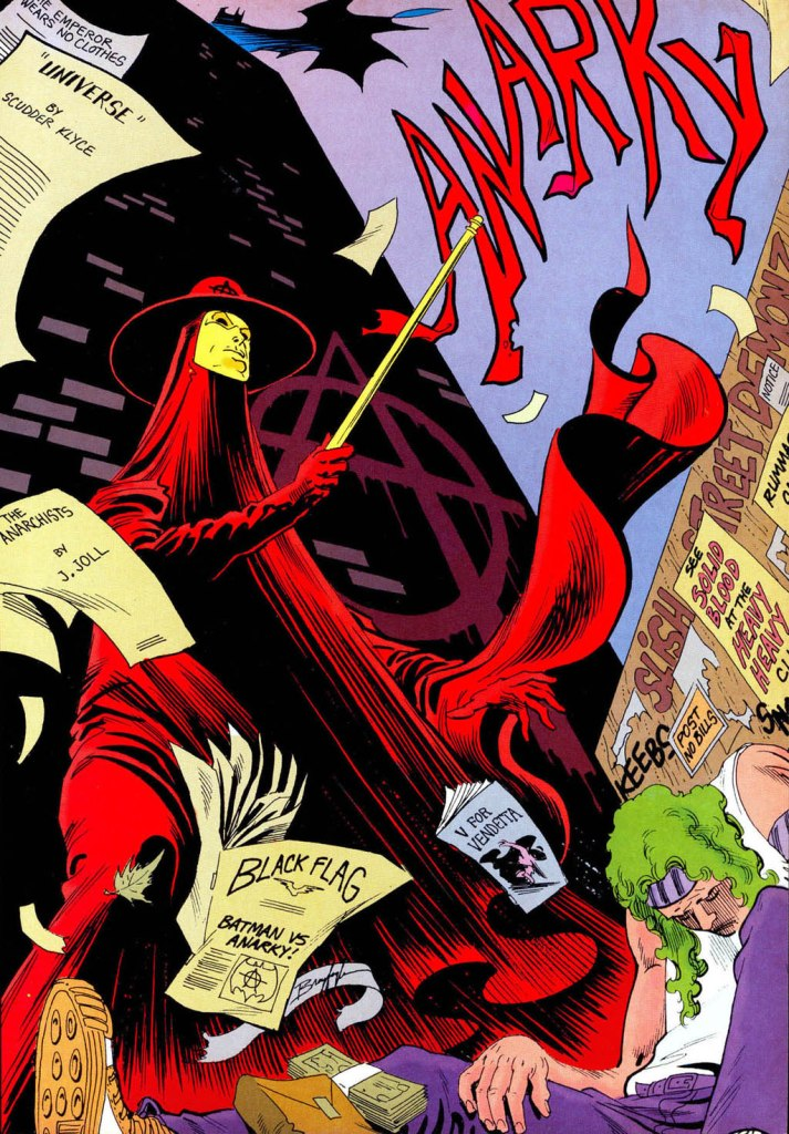 Who's Who in the DC Universe #14 - Anarchy by Norm Breyfogle