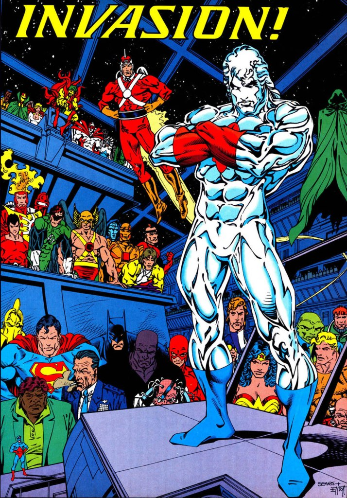 Who's Who in the DC Universe #14 - Invasion by Bart Sears and Randy Elliott