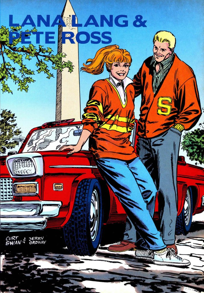 Who's Who in the DC Universe #14 - Lana Lang and Pete Ross by Curt Swan and Jerry Ordway