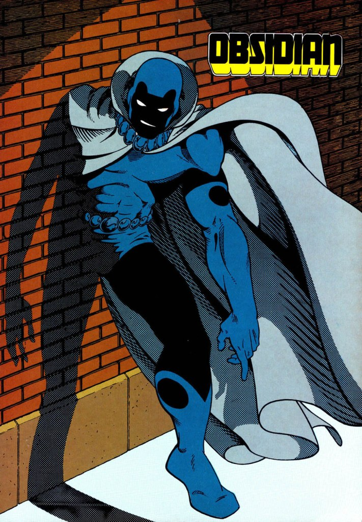 Who's Who in the DC Universe #14 - Obsidian by Marshall Rogers