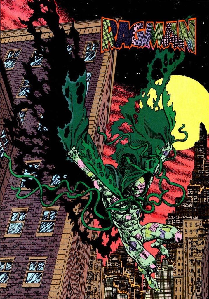 Who's Who in the DC Universe #14 - Ragman by Pat Broderick