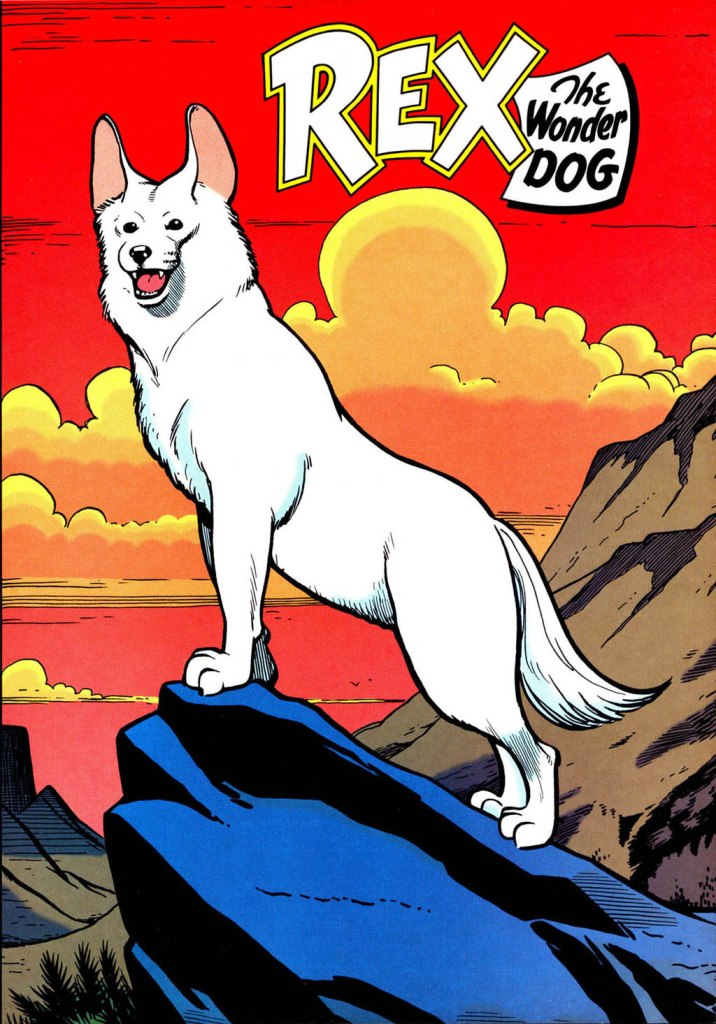 Who's Who in the DC Universe #14 - Rex the Wonder Dog by Ty Templeton