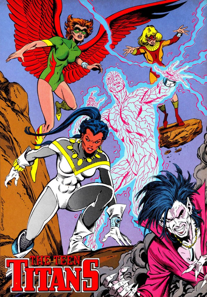 Who's Who in the DC Universe #14 - Teen TItans by Kerry Gammill and Al Vey