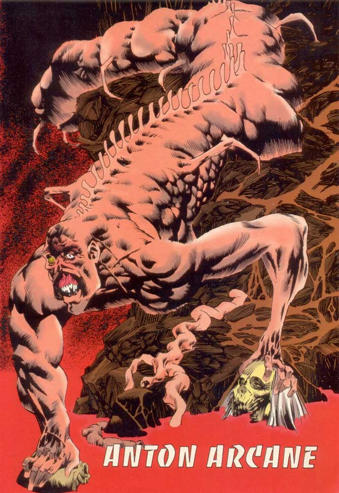 Who's Who in the DC Universe #15 - Anton Arcane by Kelley Jones