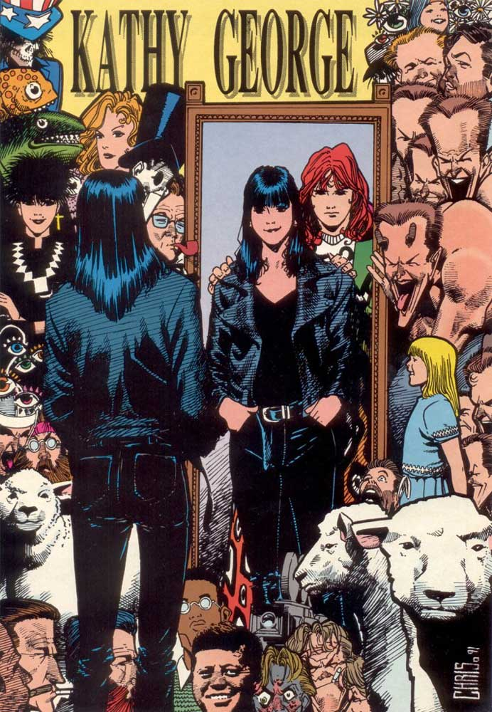 Who's Who in the DC Universe #15 - Kathy George by Chris Bachalo