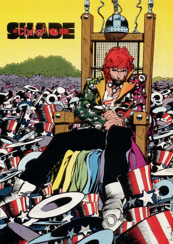 Who's Who in the DC Universe #15 - Shade the Changing Man by Chris Bachalo and Mark Pennington