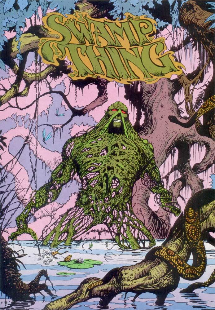 Who's Who in the DC Universe #15 - Swamp Thing by John Higgins