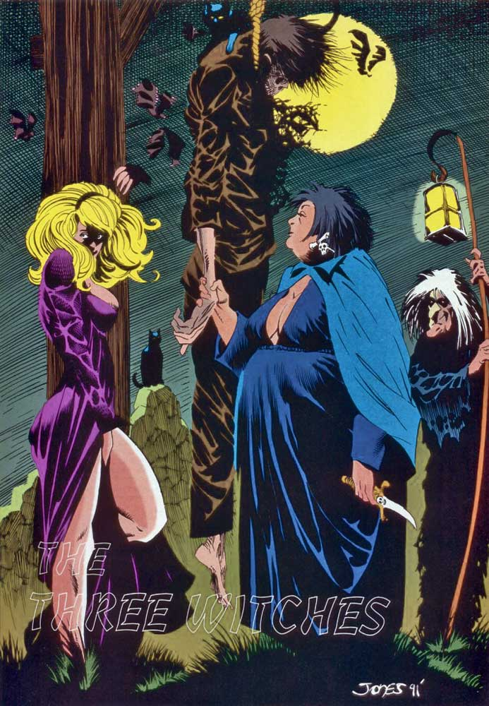 Who's Who in the DC Universe #15 - The Three Witches by Kelley Jones