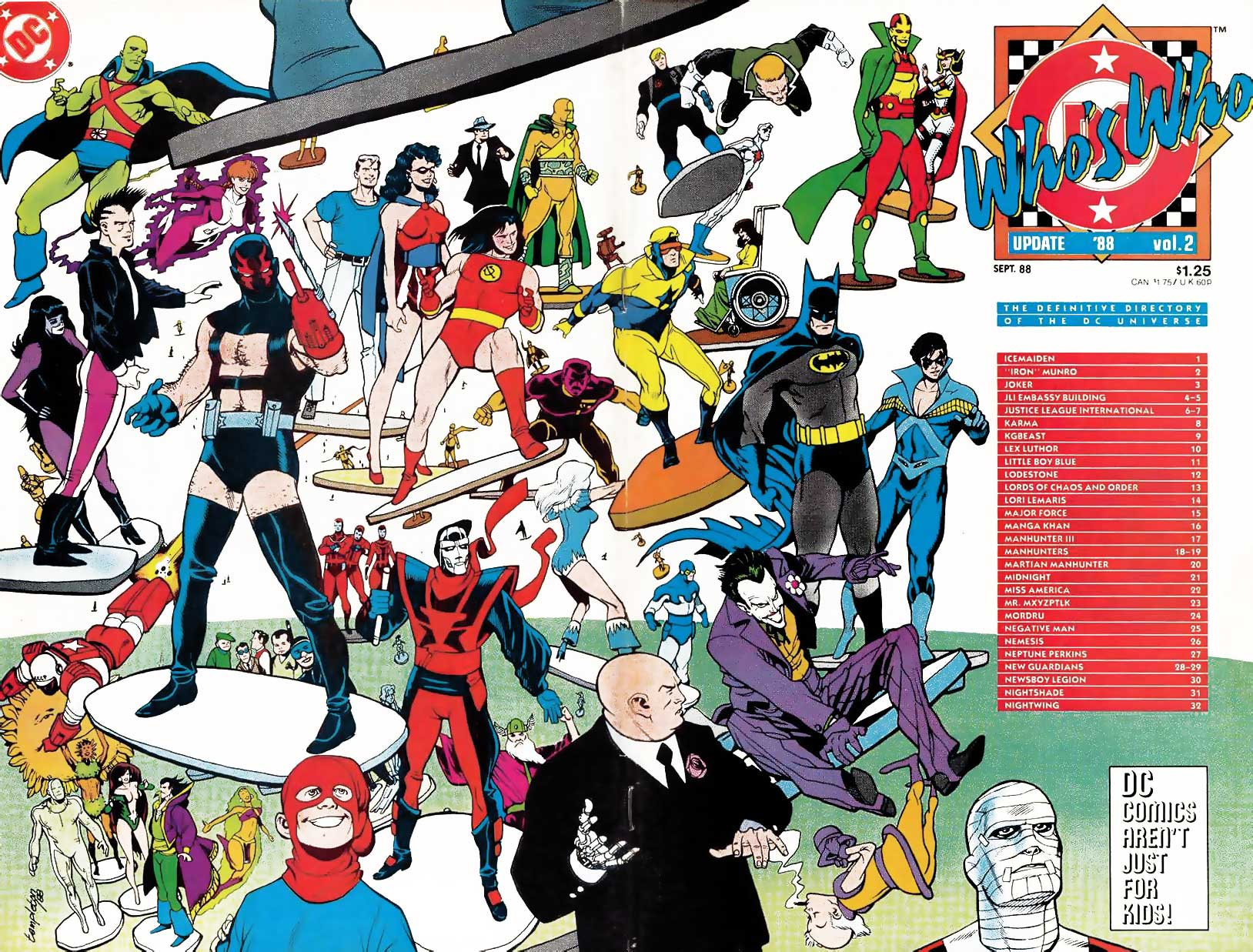 Who's Who Update 88 #2 cover by Ty Templeton
