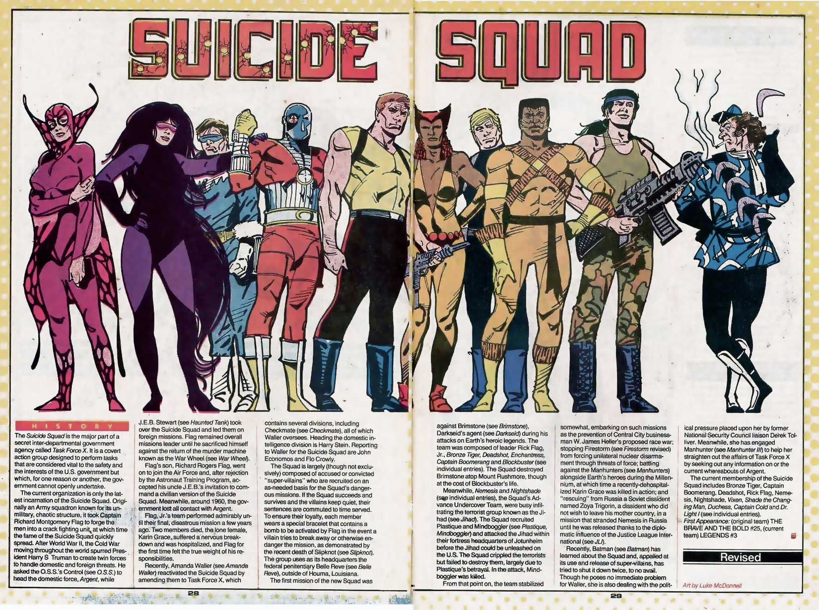 Who's Who Update 88 #3 Suicide Squad by Luke McDonnell