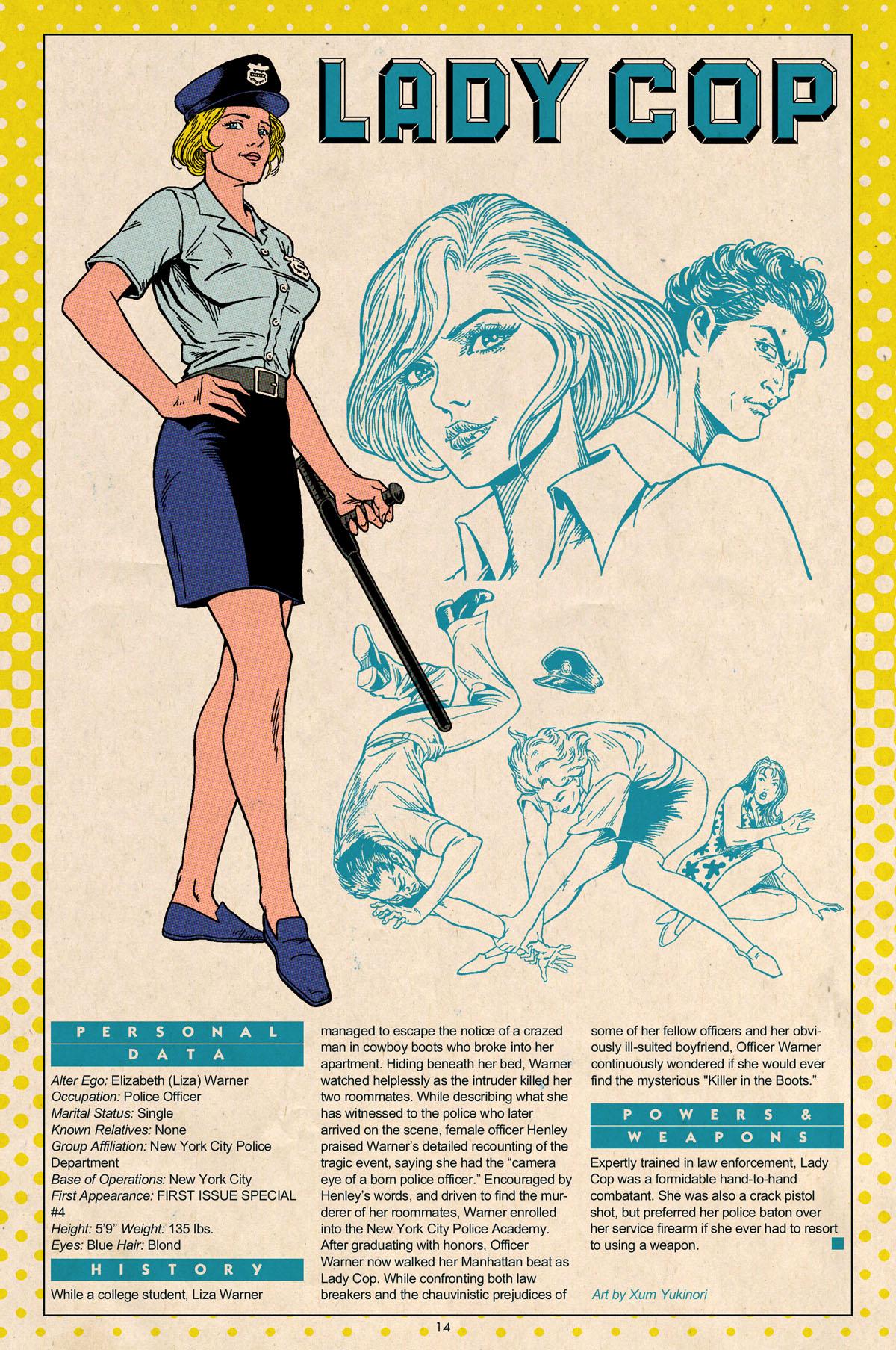 Xum Yukinori's Who's Who Lady Cop