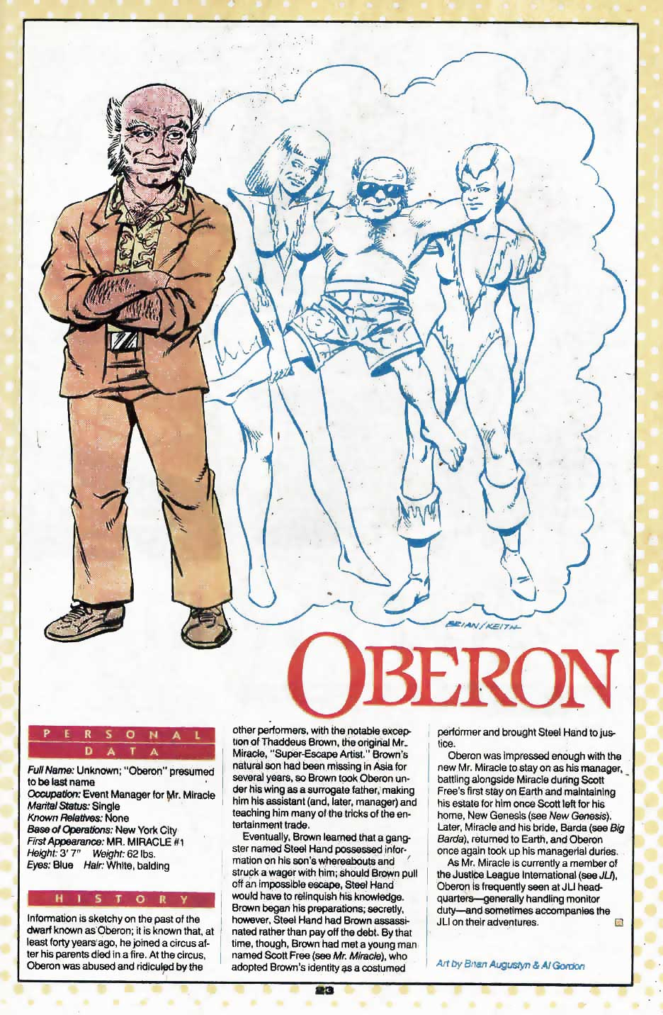 Oberon by Brian Augustyn and Al Gordon