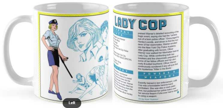 Xum's Lady Cop Mug