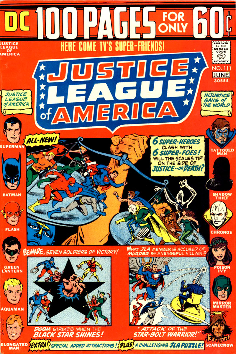 Justice League of America v1 #111 cover